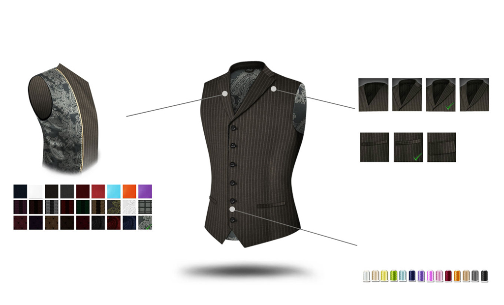 custom made vest quality